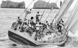 Broken forestay in the Southern Ocean: Extract from Woman of Steel