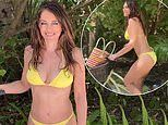 Elizabeth Hurley, 54, showcases her incredible physique in a tiny bikini while on Maldives holiday