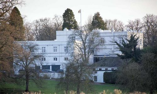 See where Prince Andrew lives with ex-wife Sarah Ferguson in Windsor
