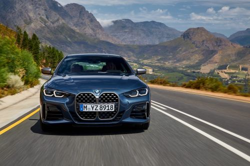 BMW just revealed its all-new 4 Series coupe with a a huge front grille that's already controversial