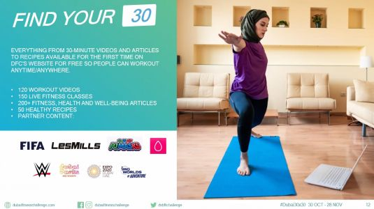 Dubai Fitness Challenge Now Offers FREE Workout Vids To Help You Find Your 30 This DFC