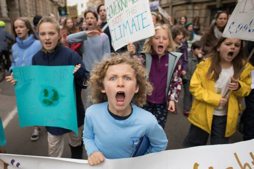 Entire city 'to walk out' on strike over climate change fears