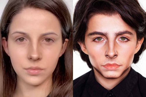 A 16-year-old makeup artist flawlessly transforms into Timothée Chalamet in a viral TikTok video