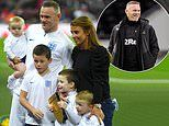 Coleen Rooney pays tribute to husband Wayne after his retirement from football