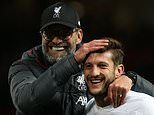 Jurgen Klopp admits Adam Lallana has played his final game for Liverpool