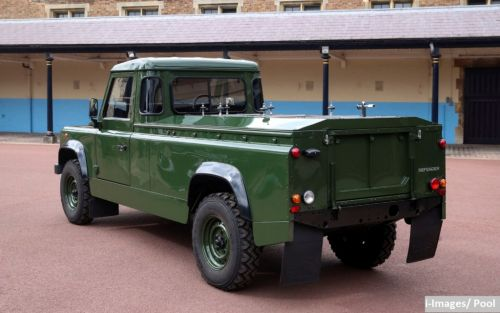 Land Rover hearse designed by Prince Philip revealed