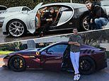 Life in the fast lane: Cristiano Ronaldo's ever-growing garage of supercars