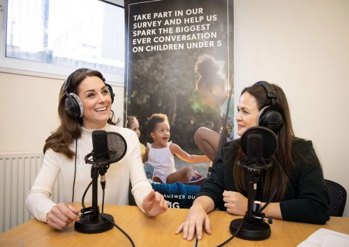 Duchess of Cambridge reveals her parenting influence in first podcast interview