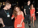 Jacqueline Jossa puts on a VERY united front with husband Dan Osborne at her clothing launch