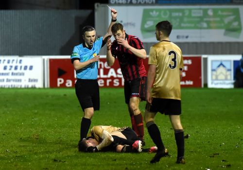 Inverurie Locos prove spot on in feisty Shield encounter with Aberdeen