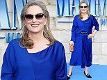Meryl Streep celebrates at Mamma Mia! Here We Go Again premiere