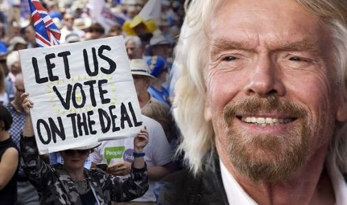 Billionaire Branson demands second referendum in Brexit warning to May - 'Full DISASTER!'