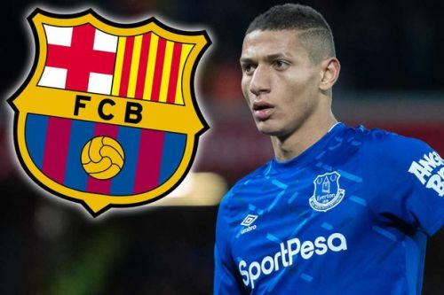 Everton 'reject £85m transfer bid' from Barcelona for Richarlison