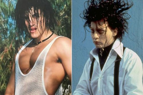 Peter Andre branded a buff Edward Scissorhands in epic 90s throwback