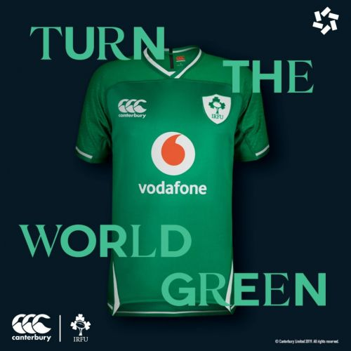Introducing NEW Ireland Rugby Jerseys