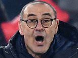 Maurizio Sarri launches extraordinary attack on his Juventus team after slumping to Lyon defeat
