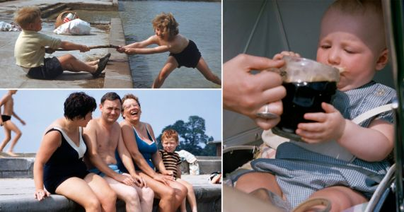 Nostalgic photos bring back charming memories of the classic British summer holiday
