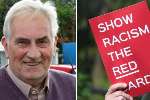 Top football official admits making racist remark minutes after campaign posters are dished out