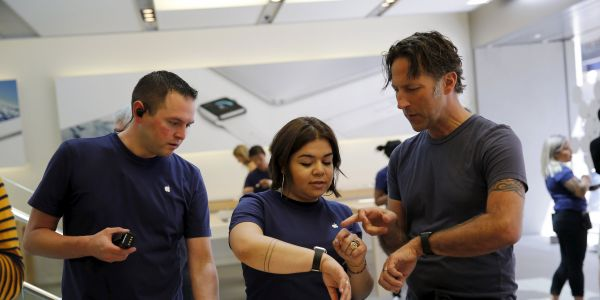 Apple's wearables business is now the size of a Fortune 200 company
