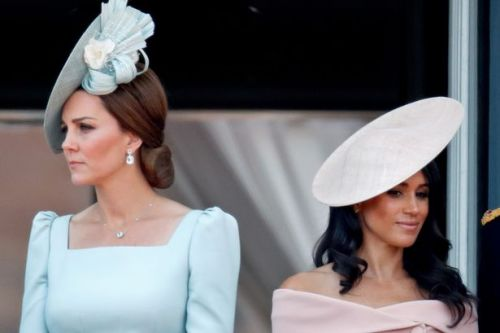 Meghan Markle's 'foot-stamping' row left Kate Middleton 'very upset'
