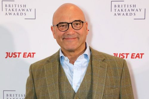 Gregg Wallace looks totally different with full head of hair in hunky throwback