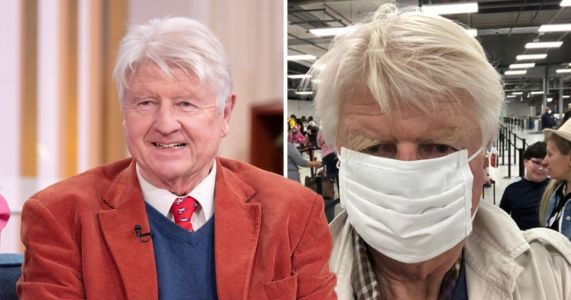 Boris Johnson's dad caught shopping without face mask as PM warns of fines