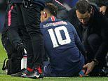 Man United fans confident of beating PSG after Neymar picks up injury