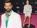 Becky G and Ricky Martin heat up the night at Univision's Premio Lo Nuestro Awards in Miami