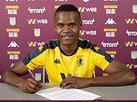 Aston Villa sign striker Mbwana Samatta from Genk on four-and-a-half year deal