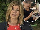 Kate Garraway reveals her son, 10, sleeps in a fort beside dad Derek Draper's empty bed