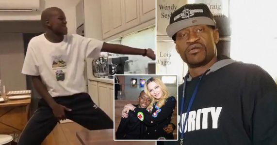 Madonna's son David dances to honour George Floyd after his tragic death amid brutal arrest