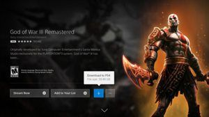 PS Now Subscribers Can Now Download Games