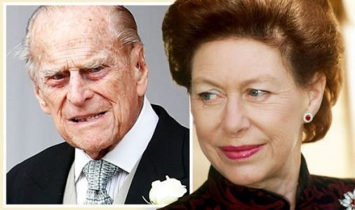 Prince Margaret was 'replaced' by Prince Philip when Queen Elizabeth II took the throne