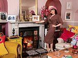 My haven, Tara Arkle: The daughter of Joan Collins in the living room of her home in Somerset