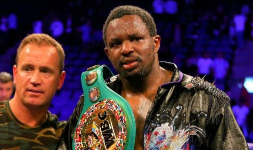 Dillian Whyte confirms split with trainer Mark Tibbs ahead of Alexander Povetkin fight