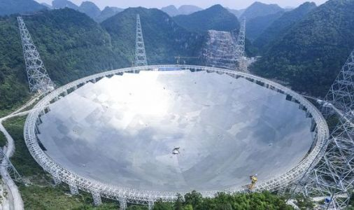 China opens HUGE 1,600-foot radio telescope to foreign scientists in hunt for alien life