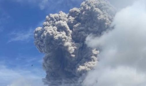 Indonesia volcano: Mount Sinabung spews 3 mile ash cloud in huge eruption - VIDEO