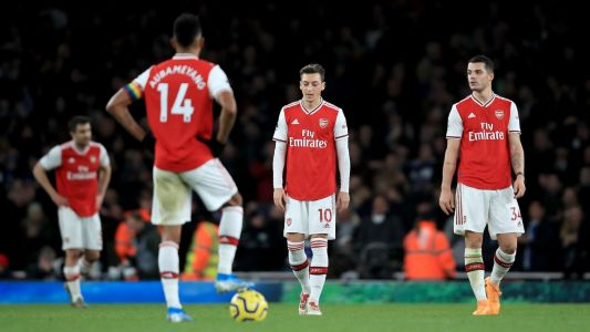 Abject, dire and toxic: it's open warfare at the Mayhemirates as Arsenal lose again