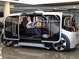 Inside the 75mph milk float! Jaguar says its new driverless car will cut casualties on British roads