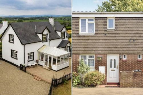 These two hugely different properties will cost new buyers almost the same money
