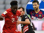 Alphonso Davies grew up idolising Lionel Messi. now he needs to stop him!