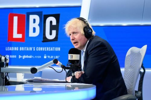 Boris squirms on air when asked about Cummings by son whose mum died in lockdown