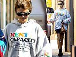 Olivia Jade wears mental health top after Lori Laughlin 'tried to contact Felicity Huffman'