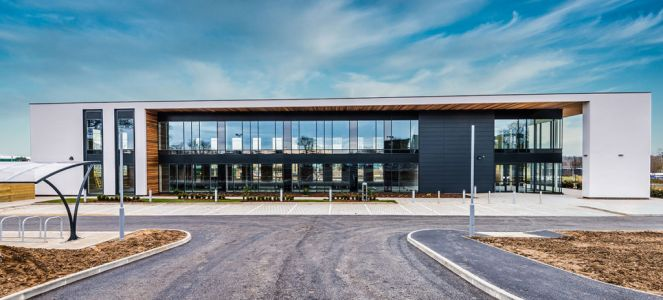 New building named after microbiologist Dr Ella Barnes OBE completed on Norwich Research Park