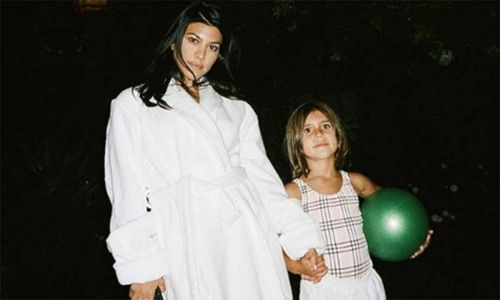 Kourtney Kardashian shares new video of daughter Penelope from their fun weekend at home