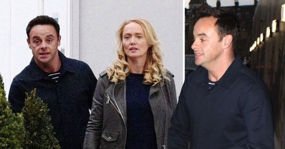 Ant McPartlin and Anne-Marie Corbett shop for fancy jewellery at Harrods
