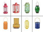 Life's little luxuries: FEMAIL picks out a selection of the best outdoor lanterns