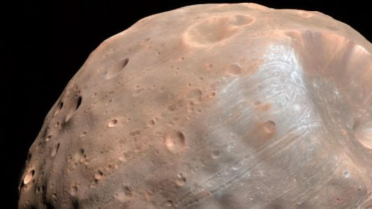 More Evidence That Mars Once Had a Ring - and Will Again