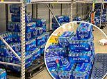 Viral pictures show cases of Dasani bottled water left on the shelves amid coronavirus panic