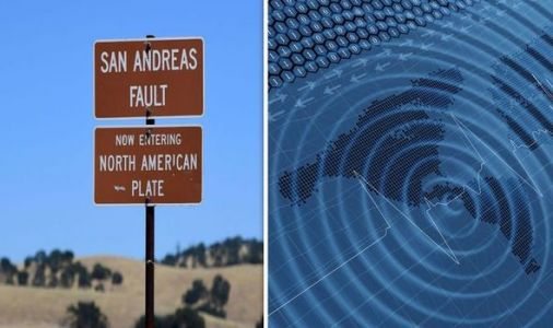 San Andreas fault earthquakes may have been influenced by ancient lake